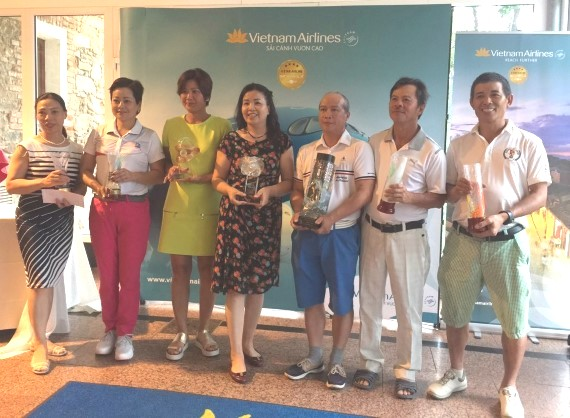 Sôi nổi Giải Golf Việt – Séc mở rộng 2019